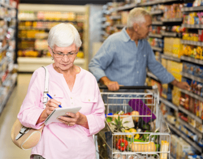 Nutritious Grocery Shopping List for Seniors in Edmonton, AB