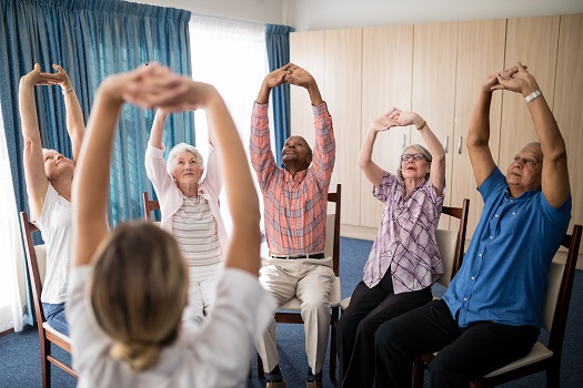 Exercises Seniors Can do Sitting Down in Edmonton, AB