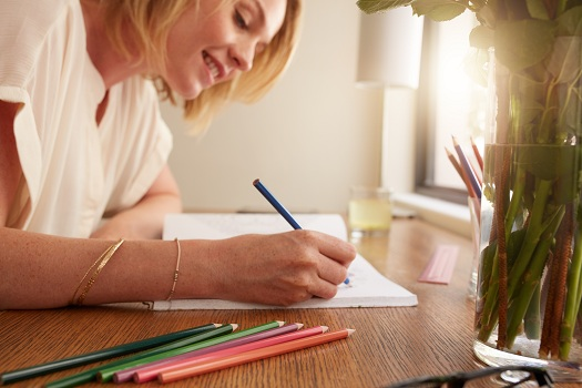 Can Adult Coloring Books Help Caregivers Relieve Stress in Edmonton, AB